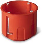 Puszka podtynkowa ONNLINE PK-60F GK głęboka, czerwona, IP 20