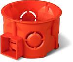 Puszka podtynkowa ONNLINE PRO PK-60F łączeniowa płytka, czerwona, IP 20