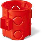 Puszka podtynkowa ONNLINE PRO PK-60F łączeniowa głęboka, czerwona, IP 20