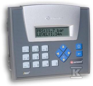 Sterownik PLC z tekstowym panelem HMI JAZZ2 OPLC,6DI,4RO,USB
