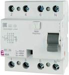 Wyłącznik różnicowoprądowy EFI-P4 A 40/0.1