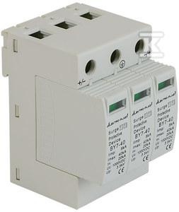 Ogranicznik przepięć PV 3P (T1+T2 DC) BY7-40 1000VDC