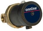 """Elektroniczna pompa do cyrkulacji wody pitnej, Onnline Pro 15-1/65 B, z przyłączem gwintowym 1Rp1/2"""", w komplecie zawór zwrotny i osłona termiczna."""