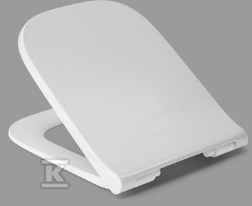 Daya Slim deska WC do KOŁO MODO wolnoopadająca, wypinana z duroplastu, zawias C5002G