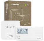 AURATON Pavo SET - Tygodniowy, bezprzewodowy regulator temperatury ze sterownikiem urządzenia grzewczego (zestaw)