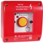 Przeciwpożarowy wyłącznik prądu  PWP1-W01-B-11-2LED7\.