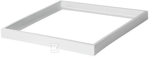 Ramka do nasufitwego montażu paneli LED ADTR-H 6060 600x600x76mm biała