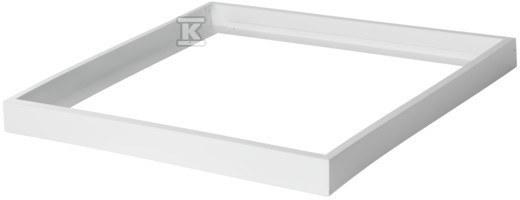 Ramka do nasufitwego montażu paneli LED ADTR-H 6060 600x600x65mm biała