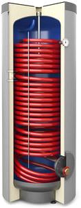 Wymiennik cwu z wężownicą spiralną, stojący SGW(S) Tower Grand 300L, poliuretan, skay, wężownica o pow. 2,7m²