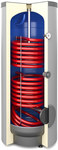 Wymiennik biwalentny 200l SGW(S)B TOWER BIWAL z dwiema wężownicami spiralnymi, emaliowany, twarda pianka poliuretanowa, skay, pionowy wolnostojący