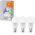 Żarówka LED SMART+ E27 A60 9W 806lm RGB+CCT 2700-6500K Tunable White ściemnialna, ze sterowaniem WiFi, komplet: 3 szt.