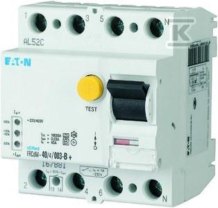 Wyłącznik różnicowoprądowy typ G/Bfq4-biegunowy FRCdM-63/4/03-G/Bfq