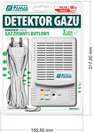 Mikroprocesorowy detektor gazu METANU i PROPANU-BUTANU