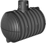 Szambo szczelne PEHD CARAT XL 8500L z nadbudową max DN160, bez pokrywy