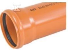 Rura kanalizacyjna zewnętrzna PVC 200x4.9x1000 SN4 KL.N LITA