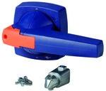 Dźwignia napędowa montaż na drzwiach do mechanicznego przełaczania, typ D, niebieski, 8mm KO3DB/P