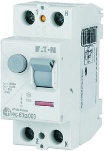 Wyłącznik różnicowoprądowy 6kA typ AC HNC-63/2/003