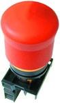 Napęd M22-PV/K11 przycisk bezpieczeństwa 1Z1R płaski