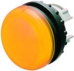 Lampka M22-L-Y główka płaska żółta