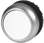 Napęd M22-DL-W przycisk podświetlany płaski biały z samopowrotem