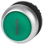 Napęd M22-DLH-G-X1 przycisk podświetlany wystający zielony z samopowrotem