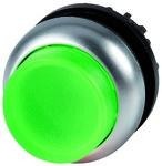 Napęd M22-DLH-G przycisk podświetlany wystający zielony z samopowrotem
