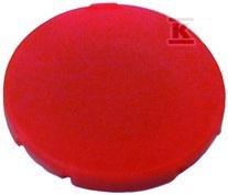 Wkładka przycisku M22-XD-R płaska czerwona bez opisu