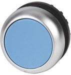 Napęd M22-DR-B przycisk płaski niebieski bez samopowrotu