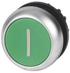 Napęd M22-DR-G-X1 Przycisk płaski zielony bez samopowrotu