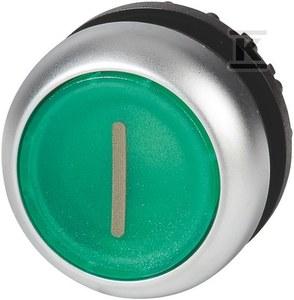 Napęd M22-DRL-G-X1 przycisk podświetlany płaski zielony bez samopowrotu