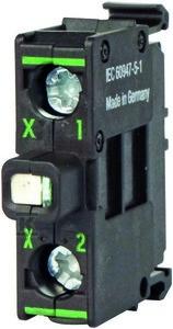 Dioda M22-LEDC230-B LED niebieska montowana do dna