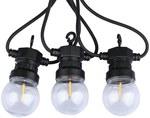 Girlanda LED VT-71510 10 źródeł światła 0.4W 3000K 5M IP40