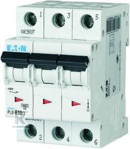 Wyłącznik nadprądowy 6kA PL6-D10/3