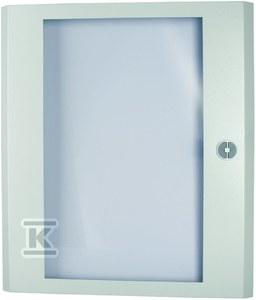 Drzwi stalowe, przeszklone, szerokość 800 mm BP-DT-800/4