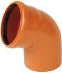 Kolano PVC 160x160/67 kl.N
