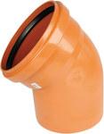 Kolano PVC 160x160/45 kl.S
