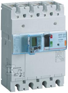 Wyłącznik mocy z wyzwalaczem elektronicznym z wbudowanym zabezpieczeniem różnicowoprądowym DPX3 250 EL+BL.R 4P 160A 70KA