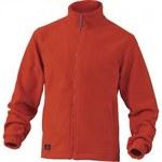 Bluza z polaru poliestru, 280 g/m2 czerwony XL