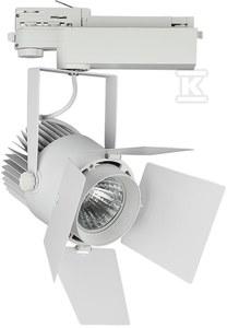 Projektor VT-433 33W LED CHIP SAMSUNG 3000K 2640lm CRI>90 regulowany kąt 24-60° biały