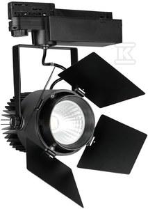 Projektor VT-433 33W LED CHIP SAMSUNG 3000K 2640lm CRI>90 regulowany kąt 24-60° czarny