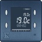 Pokrywa zegara, termostatu, programatora, sterownika, grafit Simon 82