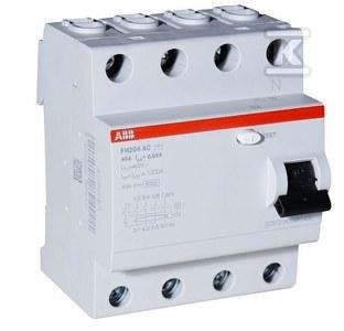 FH204 AC-40/0,03 Wyłącznik różnicowo-prądowy 4-polowy