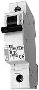 Wyłącznik nadprądowy ETIMAT 10 1p B20