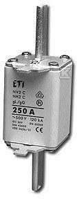 Wkładka topikowa przemysłowa zwłoczna NH2/WT-2C gG 63A/500V