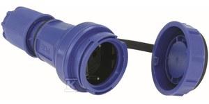Gniazdo przenośne jednofazowe NAUTILUS 10/16A 2 P+Z 230V z bolcem + pokrywa IP67/68