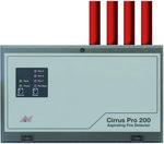 Cirrus Pro 200 - Konwencjonalna czujka zasysająca 4 rurkowa (wymaga dodatkowego zasilacza) PROTEC