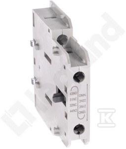 Styki pomocnicze boczne CTX3 3P 9-150A 1NO1NC