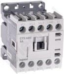 STYCZ.MINI 3P 6A 1NC 24V AC CTX3