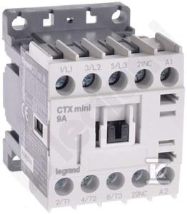Stycznik CTX3 MINI 3P 9A 1NC 230V AC