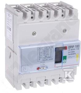Wyłącznik mocy z wyzwalaczem termiczno-magnetycznym DPX3 160 4P 125A 16KA